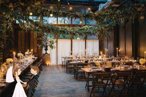 Hình ảnh minh họa nhà hàng tiệc cưới có không gian rộng rãi.