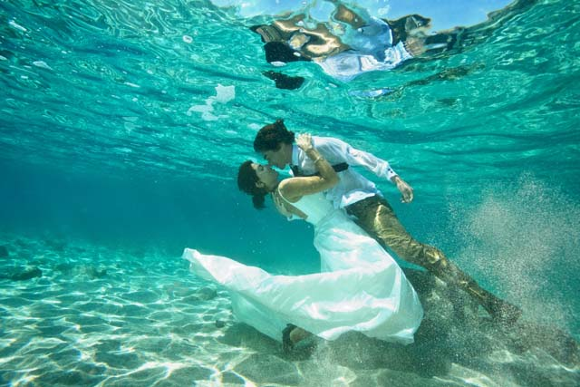 Under Water Wedding Photography 0442