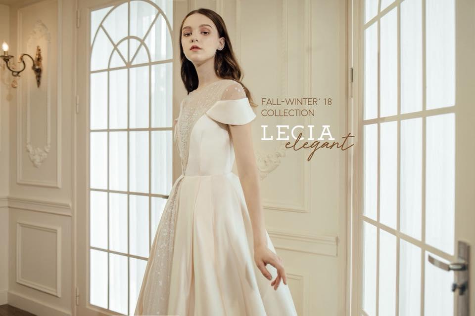 Hình ảnh một mẫu váy cưới thuộc thương hiệu Lecia Bridal