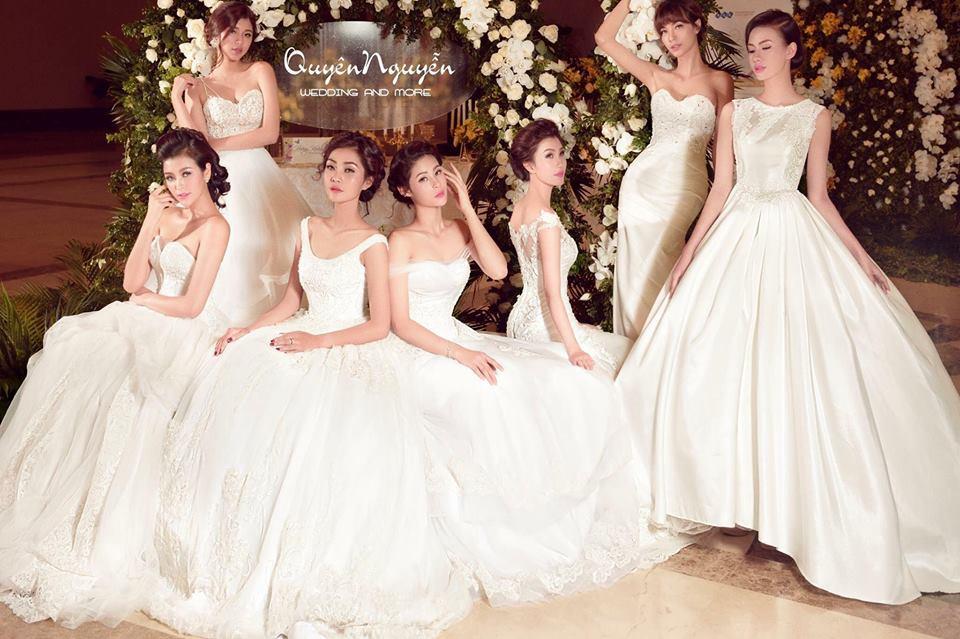 Hình ảnh mẫu váy cưới thuộc thương hiệu Xưởng váy Sweetie