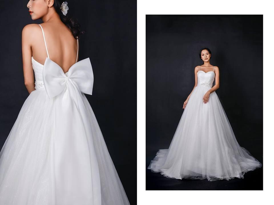 Hình ảnh một mẫu váy cưới thuộc thương hiệu White Camellia Bridal