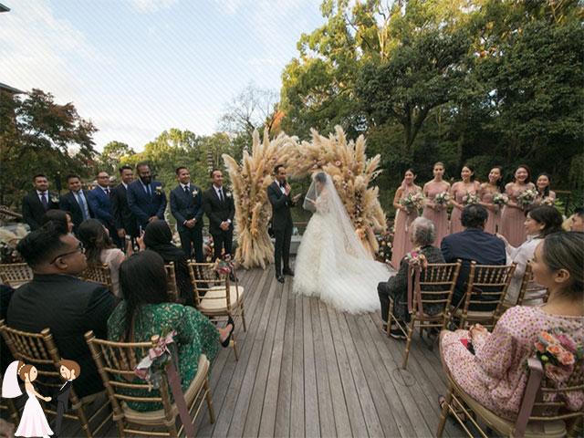 Hình ảnh siêu đám cưới tại Malaysia