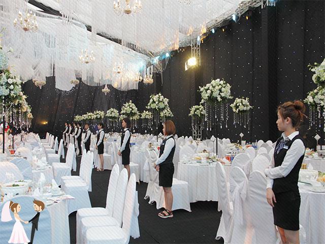 Hình ảnh siêu đám cưới tại Thái Nguyên
