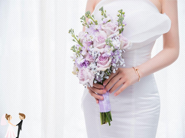 Hình ảnh minh họa xu hướng hoa cưới cầm tay