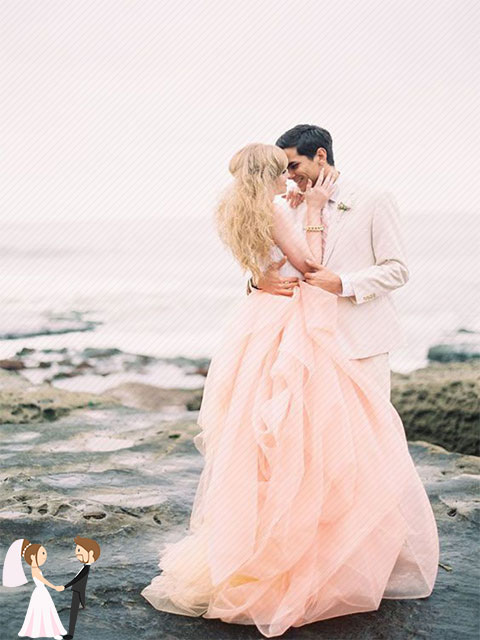 Hình ảnh minh họa cho xu hướng cưới 2019