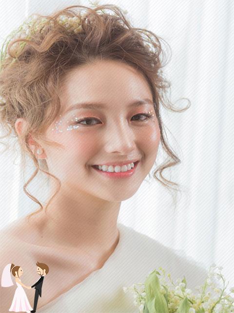 Ảnh minh họa xu hướng trang điểm cô dâu năm 2019