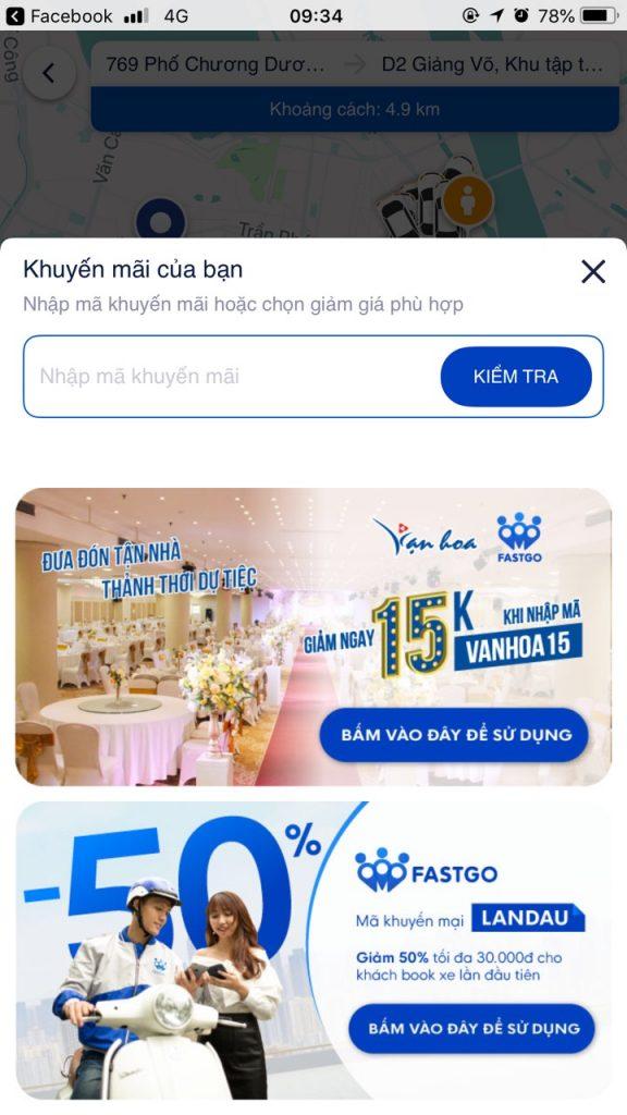 Hinh Anh Giao Dien Goi Xe Den Van Hoa