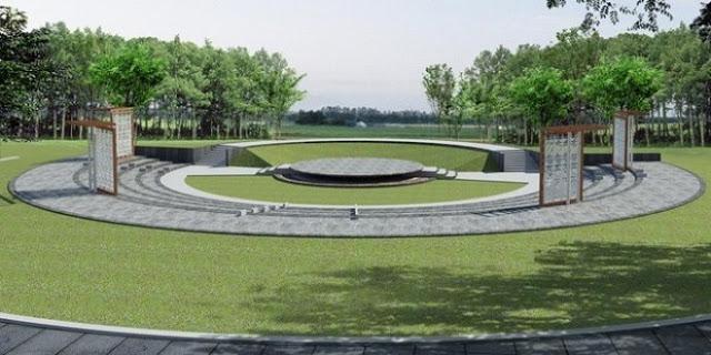 Không gian thoáng mát, rộng rãi và tràn đầy cây xanh của công viên Yên Sở