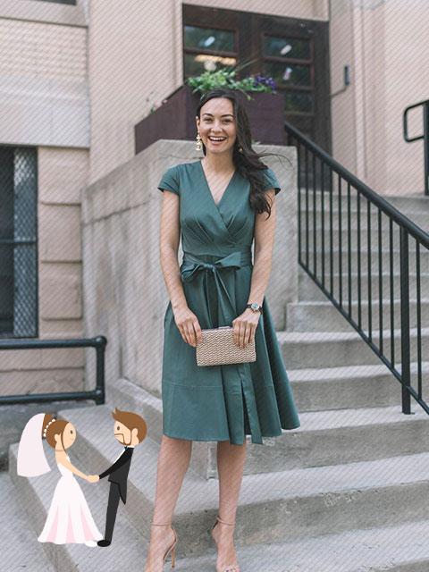 Hình ảnh minh họa gợi ý trang phục dự đám cưới mùa hè