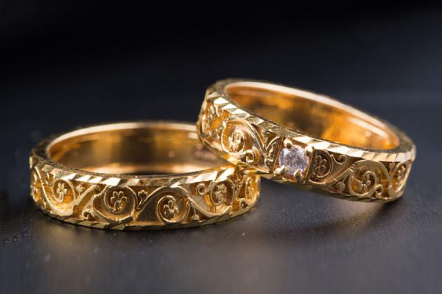 Nhẫn cưới tinh tế cho mộtđám cưới hoàn hảo.