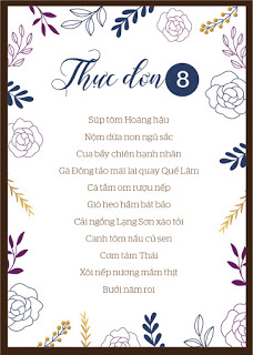 Thuc Don 11 Mon Nha Hang Van Hoa