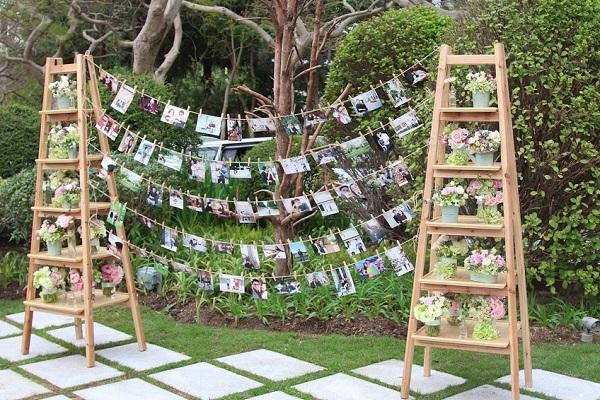 Hình ảnh minh họa cho tổ chức tiệc cưới ngoài trời