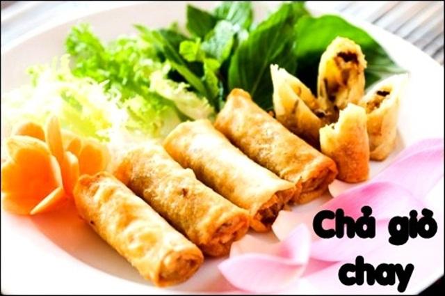 GỢI Ý THỰC ĐƠN CHAY TIỆC CƯỚI: Chả Giò Chay