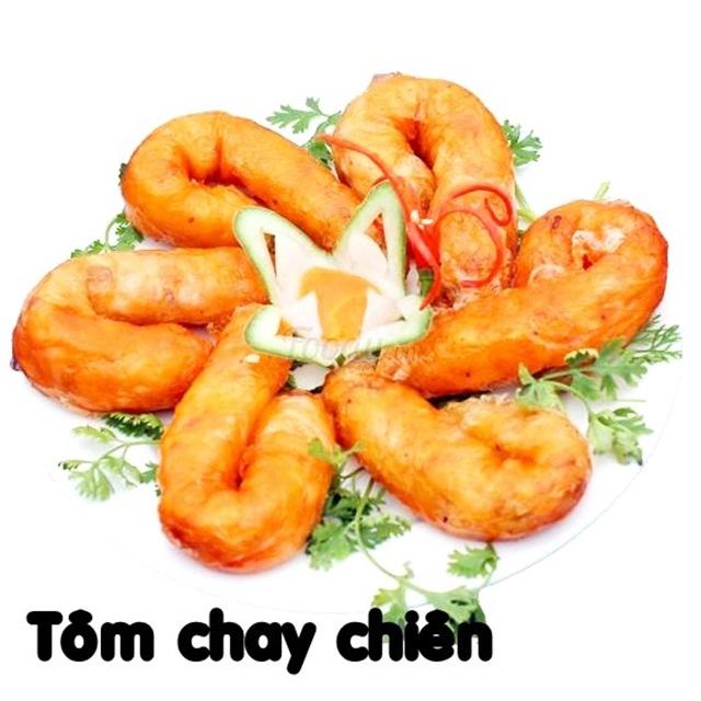 GỢI Ý THỰC ĐƠN CHAY TIỆC CƯỚI: Tôm Chay Chiên