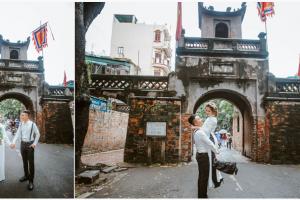 Hình ảnh minh họa địa điểm chụp ảnh cưới tại Ô Quan Chưởng Hà Nội