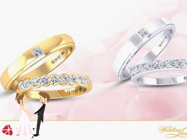 Hình ảnh minh họa cửa hàng nhẫn cưới Doji