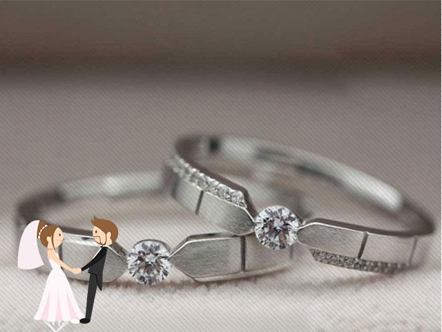 Hình ảnh minh họa cho cửa hàng bán nhẫn cưới