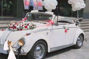 Hình ảnh minh họa địa chỉ thuê xe đám cưới uy tín tại Hà Nội