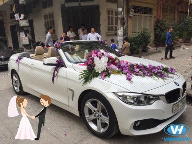 Hình ảnh minh họa địa chỉ thuê xe đám cưới