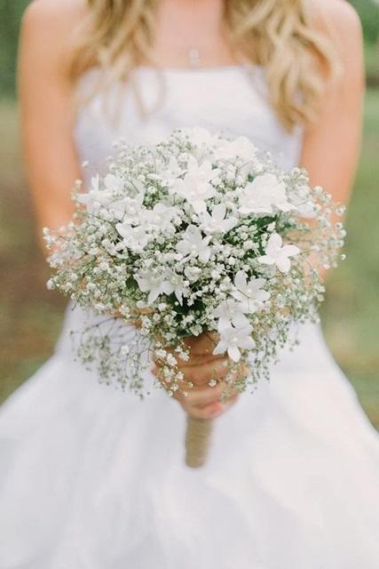 Hình minh họa bộ sưu tập hoa cưới đẹp