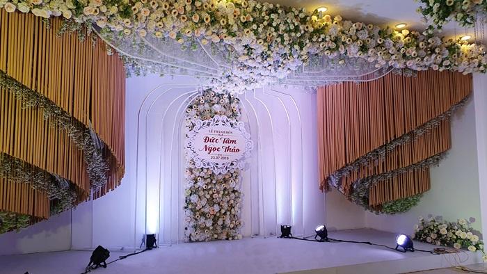 Hình ảnh phòng tiệc Vạn Hoa 98 Thái Thịnh