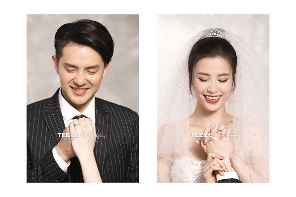 Ảnh cưới của ca sĩ Đông Nhi và Ông Cao Thắng