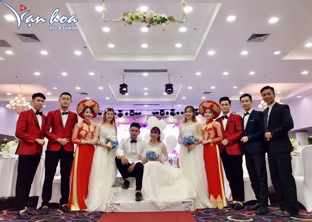 Hình ảnh minh họa chương trình khánh tiết đám cưới