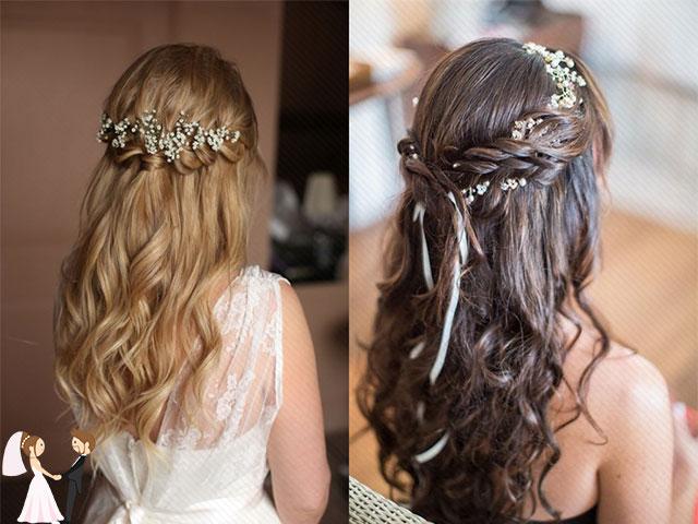 Hình ảnh minh họa kiểu tóc cô dâu đơn giản