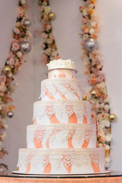 Hình ảnh minh họa bánh cưới
