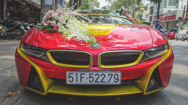 Chú ý màu sắc của xe khi thuê xe cưới