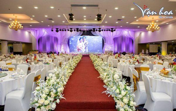 Hình ảnh minh họa màn hình Led tiệc cưới