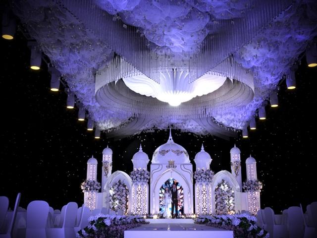 Hình ảnh minh họa phông sân khấu tiệc cưới