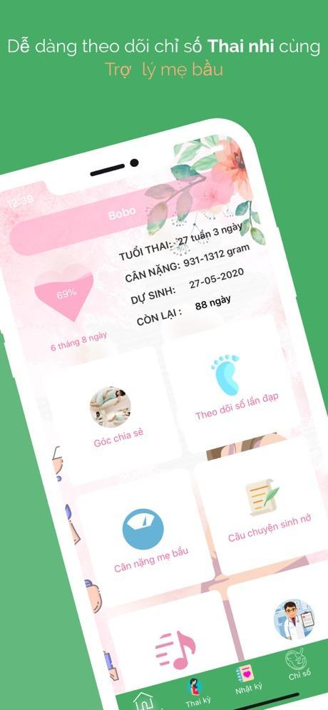 App dành cho mẹ bầu 3